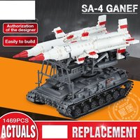 1469Pcs Military Series The SA-4 Ganef Set Building Blocks Fit Lego Minifigure