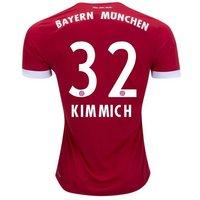 All New Joshua Kimmich #32 Bayern Munchen Home 2017-2018 Men Soccer Jersey