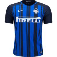 All New I Nerazzurri Inter Milan Home 2017-2018 Men Soccer Jersey