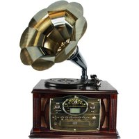 back-to-the-50s-executive-antique-trumpet-horn-turntablephonograph-with-encode