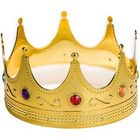 plastic-king-crown-gold-jeweled-hat-regal-adults-prince-costume-prop-lot