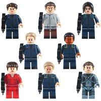 Star Trek Crew Enterprise 8pcs Lego Minifigure Toys Set