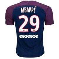 All New Kylian Mbappe #29 Paris Saint Germain Psg Home 17/18 Men Soccer Jersey