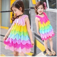 2017-girls-dress-rainbow-kid-princess-summer-beach-girls-children-sweet-cute