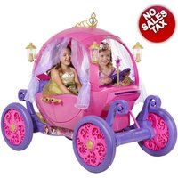 24v Disney Princess Carriage Ride-On Electric Cars For Kids Ride On Toys Girls