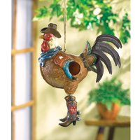 wood-bird-house-kits-cheap-outdoor-hanging-chickadee-cowboy-rooster-birdhouse