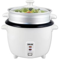 Better Chef Rice Cooker with Food Steamer Attachment