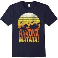 Disney Lion King Hakuna Matata Profile Graphic T-Shirt Men