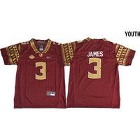 Youth/kids Florida State Seminoles College Football Jerseys #3 Derwin James