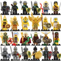 SA set Knight 24pcs QUEST minifigure blocks lego Bricks Toys