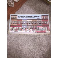 Public Assistance Board Game Vintage 1980 Welfare Banned Adult RARE SEALED!!