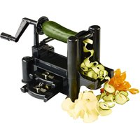 Vegetable and Fruit Spiralizer 3-Blade Spiral Slicer heavy duty W/ free Recipes