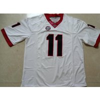 Women #11 Jake Fromm Uga College Football Stitched Jersey White