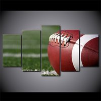 5 Pcs HD Printed American Football Game Sports Poster Picture Canvas Painting