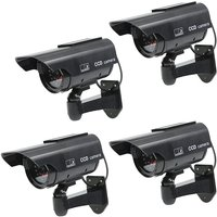 4-x-solar-power-fake-dummy-security-cctv-camera-waterproof-ir-surveillance-jq