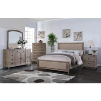 myco-furniture-ls5585-q-la-salle-rustic-aged-oak-fabric-queen-bedroom-set-4pcs