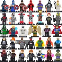 SA set Color E Great Price Marvel DC Super Hero minifigure blocks lego Sets Mode