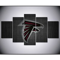 Atlanta Falcon painting  5 Piece Canvas Art Wall Art Picture Home Decor