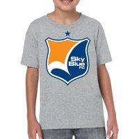 SOCCER NWSL Sky Blue FC Logo 0844 Kids T-Shirt