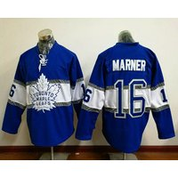 16 Mitch Marner - 2017 Toronto Maple Leafs Centennial Classic Jerseys #blue