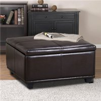 large-brown-leather-storage-ottoman-coffee-table