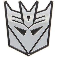 Stick On Car Emblems Custom Metal Novelty Adhesive Decepticon Transformer Emblem