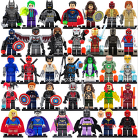 Marvel DC Super Hero F Lego Minifigure set Building Blocks Sets Model Toys set A