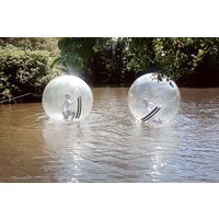 2 for 1 Water Zorbing at Pump It Up Events - Zorbing Gifts