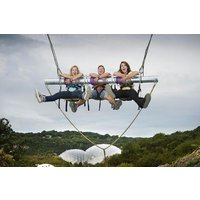 Hangloose At The Eden Project - Zip Wire, Giant Swing And Big Air And The Drop Picture