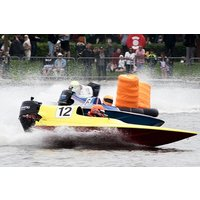 GT15 Powerboat Driving Thrill with F1 High Speed Passenger Boat Ride - F1 Gifts