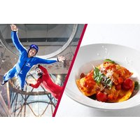 iFly Indoor Skydiving and Three Course Meal with Wine at Prezzo for Two - Skydiving Gifts