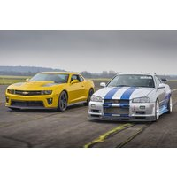Furious Experience - Nissan Skyline and Camaro Driving Blast - Nissan Gifts