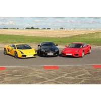 Triple Supercar Driving Blast With High Speed Passenger Ride In Surrey Picture
