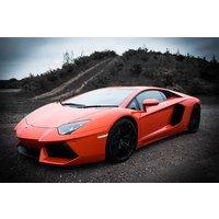 Lamborghini Aventador Driving Blast Picture