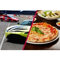 Silverstone Driving Thrill with Three Course Meal at Prezzo - Silverstone Gifts