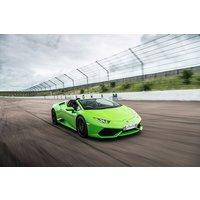 Lamborghini Huracan Driving Thrill with Free High Speed Passenger Ride - Lamborghini Gifts