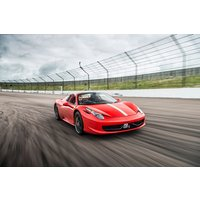 Ferrari 458 Driving Thrill with Free High Speed Passenger Ride - Ferrari Gifts