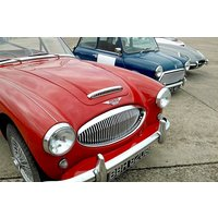 British Classics Triple Driving Thrill - Motorsport Gifts