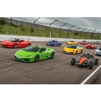 Six Supercars Driving Blast with High Speed Passenger Ride - Supercar Gifts