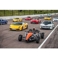 Six Supercar Driving Thrill with High Speed Passenger Ride - Motorsport Gifts