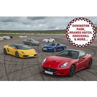 Five Supercar Driving Blast at a Top UK Race Track - Track Gifts