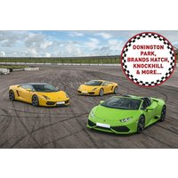 Triple Supercar Driving Thrill at a Top UK Race Track - Track Gifts