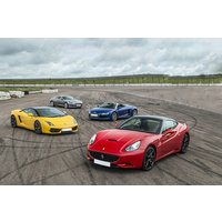 Four Supercar Driving Thrill at a Top UK Race Track - Track Gifts