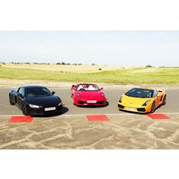 Triple Platinum Supercar Thrill with Hot Ride for One at Goodwood - Platinum Gifts