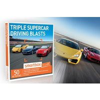 Triple Supercar Driving Blasts - Smartbox by Buyagift - Supercar Gifts