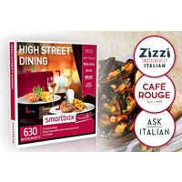 High Street Dining - Smartbox by Buyagift - Dining Gifts