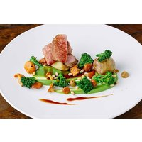 Three Course Meal With Glass Of Wine For Two At 5* Yorebridge House Picture