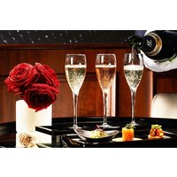Laurent-perrier Champagne Flight Tasting With Canapes For Two In The Hampton's Bar Picture