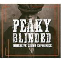 Peaky Blinded Immersive Dining Experience for Two Aboard RS Hispaniola - Dining Gifts