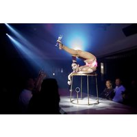 Pop up Circus Entertainment and Three Course Set Menu with Prosecco for Two at Circus - Entertainment Gifts